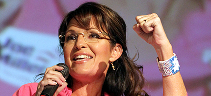 Sarah Palin. (photo: John Moore/Getty Images)