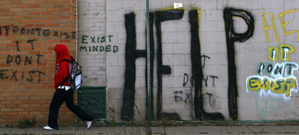Graffiti in Detroit. (photo: Getty Images)