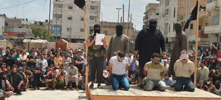 ISIS has been carrying out executions throughout Iraq. (photo: Reuters)