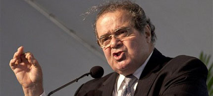 Supreme Court Justice Antonin Scalia. (photo: AP/Morry Gash)