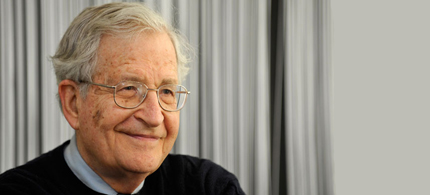 Intellectual, political activist, Professor Noam Chomsky. (photo: Russia Today)