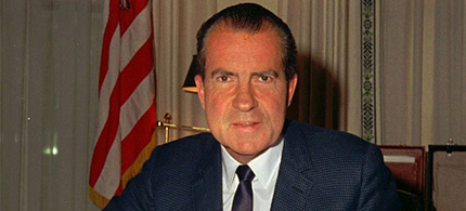 Richard M. Nixon. (photo: AP)