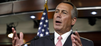 House Speaker John Boehner. (photo: J. Scott Applewhite/AP)