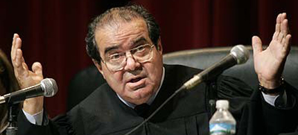 Supreme Court Justice Antonin Scalia. (photo: unknown)
