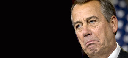 John Boehner. (photo: J. Scott Applewhite/AP)