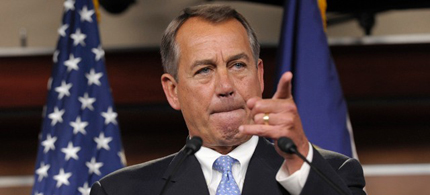 House Speaker John Boehner. (photo: Getty Images)
