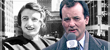 Ayn Rand; Bill Murray in