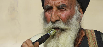 A Yazidi man. (photo: AP)