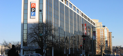 NPR's (now former) Washington, DC headquarters. (photo: unknown)