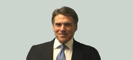 Texas governor Rick Perry is pictured in this booking photo. (photo: Travis County Sheriff's Office)
