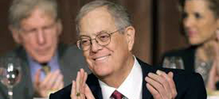 The Koch brothers want to be cool to young people. (photo: AP)