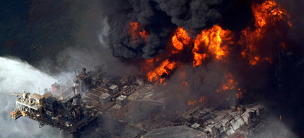 Halliburton admitted destroying evidence. (photo: Gerald Herbert/AP)