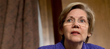 Senator Elizabeth Warren. (photo: AP)