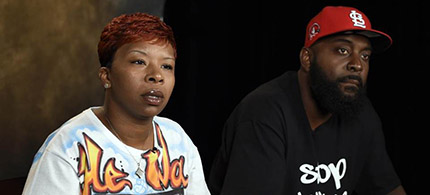 The parents of Michael Brown. (photo: AP/Susan Walsh)