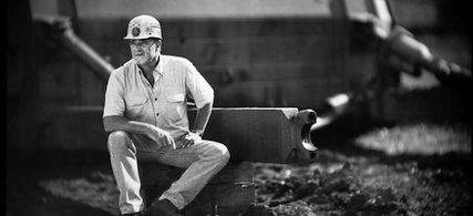 Portrait of Bobby Spare at the B&W Resources mining company tipple in Clay County, Kentucky. (photo: Chris Usher/Yahoo! News)