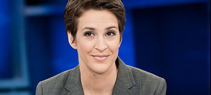 Rachel Maddow. (photo: Virginia Sherwood/MSNBC)