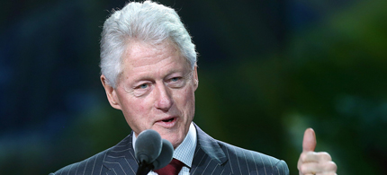 Former President Bill Clinton. (photo: Getty Images)