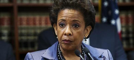 Loretta Lynch, Obama's nominee to replace outgoing attorney general Eric Holder. (photo: Reuters/Lucas Jackson)