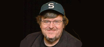 Filmmaker and activist Michael Moore. (photo: Dog Eat Dog Films)