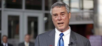 St. Louis County prosecuting attorney Robert P. McCulloch, a Missouri native whose police officer father was killed in the line of duty when McCulloch was 12. (photo: AP)