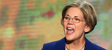Senator Elizabeth Warren. (photo: Getty Images)