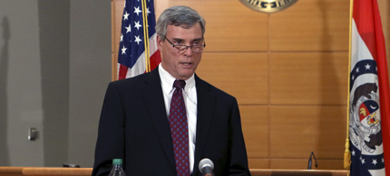 St. Louis County prosecutor Bob McCulloch. (photo: Cristina Fletes-Boutte/Reuters)