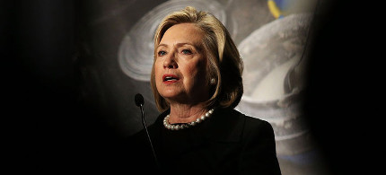 Hillary Clinton has not clearly articulated her position on torture. (photo: Spencer Platt/Getty)