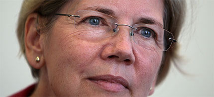 Senator Elizabeth Warren (photo: AP)