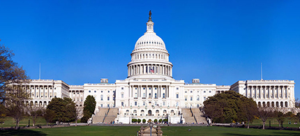 U.S. Capitol building. (photo:  Wikimedia Commons)