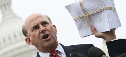 Louis Gohmert. (photo: Getty Images)
