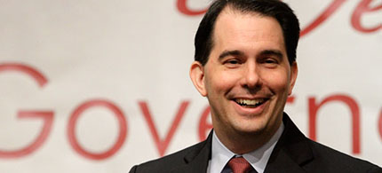 Governor Scott Walker of Wisconsin. (photo: AP)