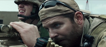 Bradley Cooper plays 'American Sniper' Chris Kyle. (photo: Warner Bros.)