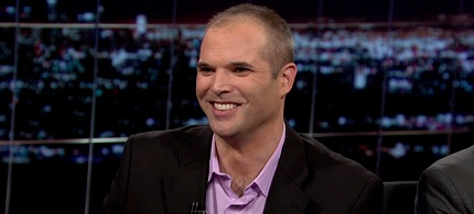 Rolling Stone investigative journalist Matt Taibbi. (photo: HBO)
