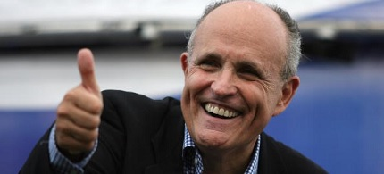 Former NYC mayor Rudy Giuliani, who said President Obama 'doesn't love America.' (photo: CLTampa.com)