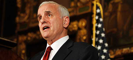 Governor Mark Dayton of Minnesota. (photo: AP)