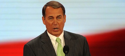 House Speaker John Boehner. (photo: AP)