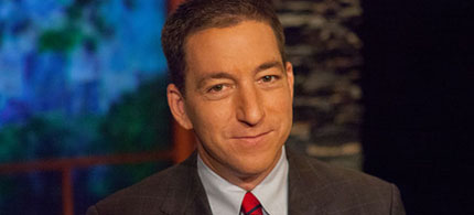 Glenn Greenwald. (photo: Dale Robbins/Moyers & Company)