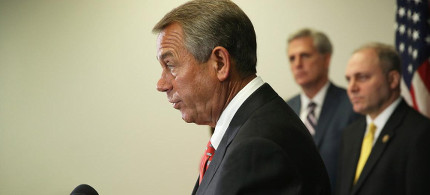 John Boehner. (photo: Getty)