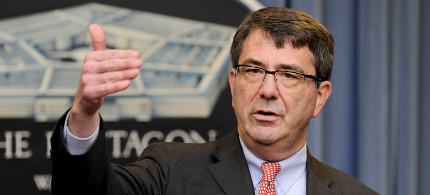 Secretary of Defense Ashton Carter. (photo: AP)