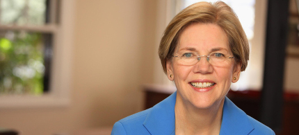 Sen. Elizabeth Warren. (photo: unknown)