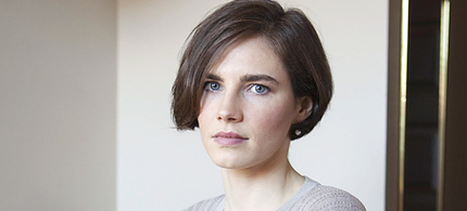 Amanda Knox. (photo: The Guardian/Sipa USA)