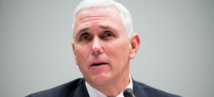 Governor Mike Pence of Indiana. (photo: Bill Clark/Getty Images)