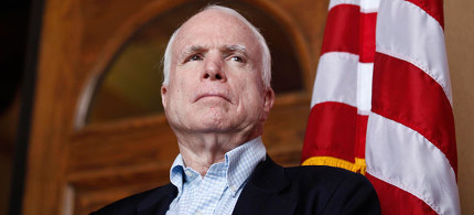 Senator John McCain. (photo: Reuters)