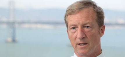The billionaire environmentalist Tom Steyer. (photo: AP)