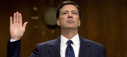 FBI director James Comey (photo: Evan Vucci/AP)