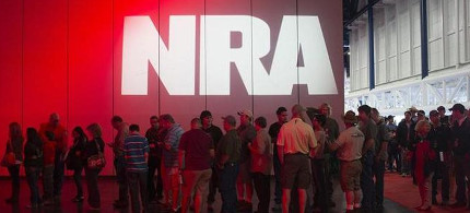 National Rifle Association convention. (photo: AP)