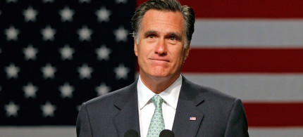 Mitt Romney. (photo: Bill Pugliano/Getty)