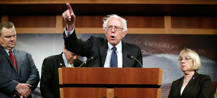 Senator Bernie Sanders. (photo: Reuters)