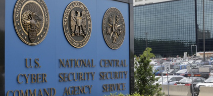 The NSA campus in Fort Meade. The bulk collection of telephone metadata was first revealed in 2013 by Edward Snowden. (photo: Patrick Semansky/AP)