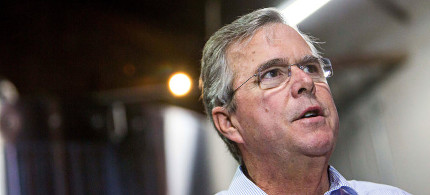 Jeb Bush. (photo: Deanna Dent/Reuters/LANDOV)